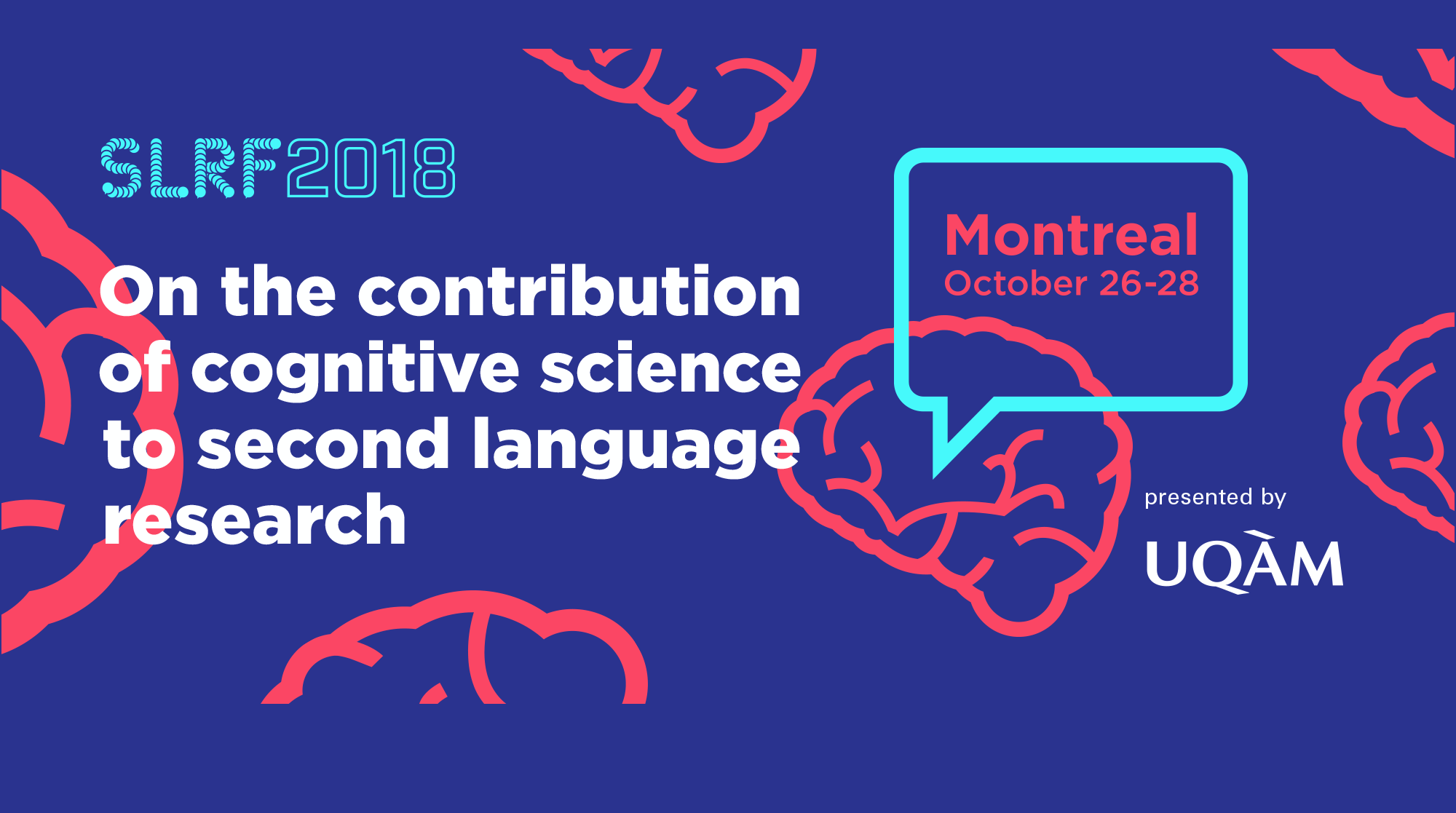 Second Language Research Forum 2018